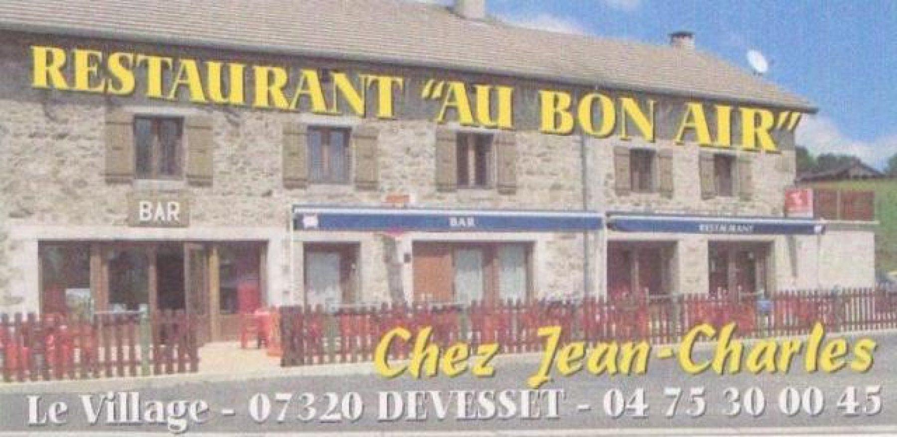 Au bon air - Chez Jean-Charles Blanc