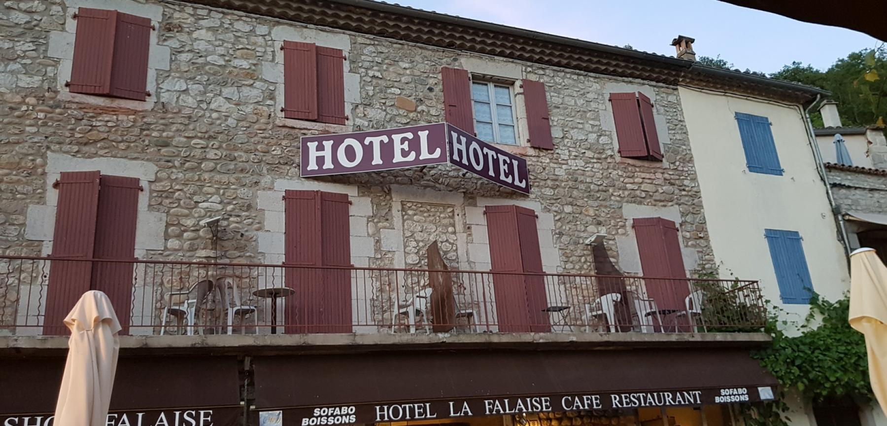 Hôtel la Falaise