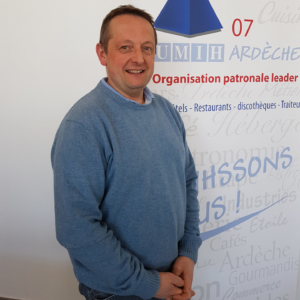 Dominique RIGNANESE, Président des Hôteliers