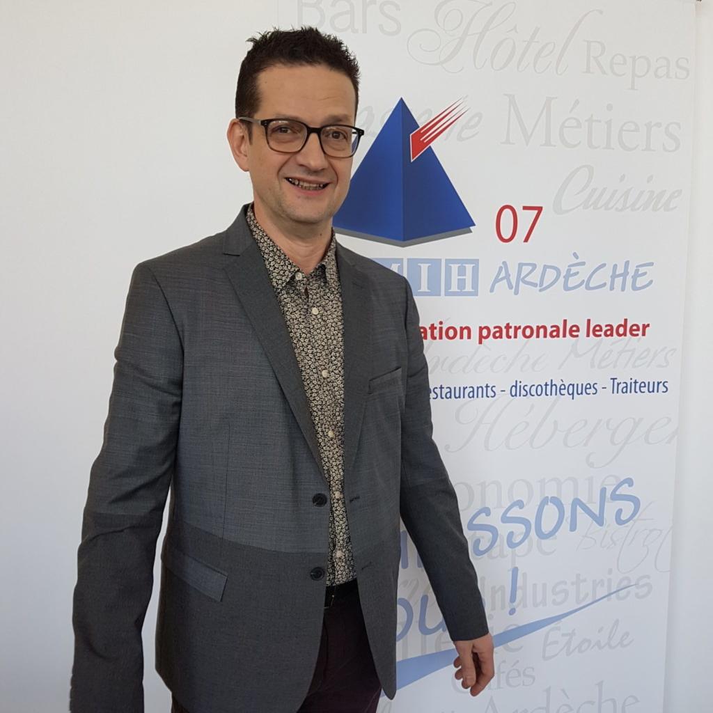 Richard ROCLE, Président des Restaurateurs