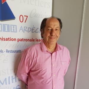 Lucien DELAVELLE, Président des Saisonniers