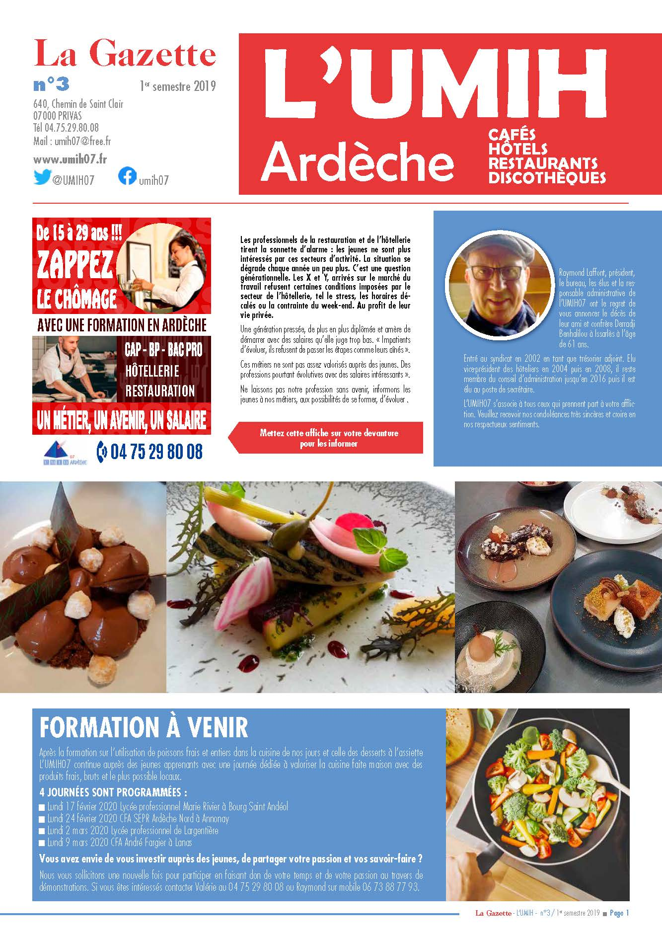 Pages de UMIH . Brochure 1